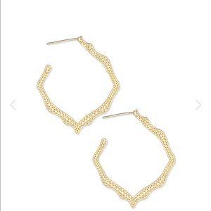 🌾Kendra Scott Miku Hoop Earrings
